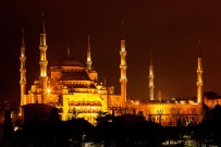 sultan ahmed - bluemosque at night