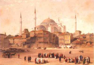 hagia sophia and the square