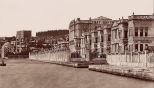 Guillaume Berggren, Dolmabahçe Palace & German Embassy