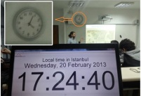 my students!!! not that I am boring while lecturing on Istanbul, but I can bend time!