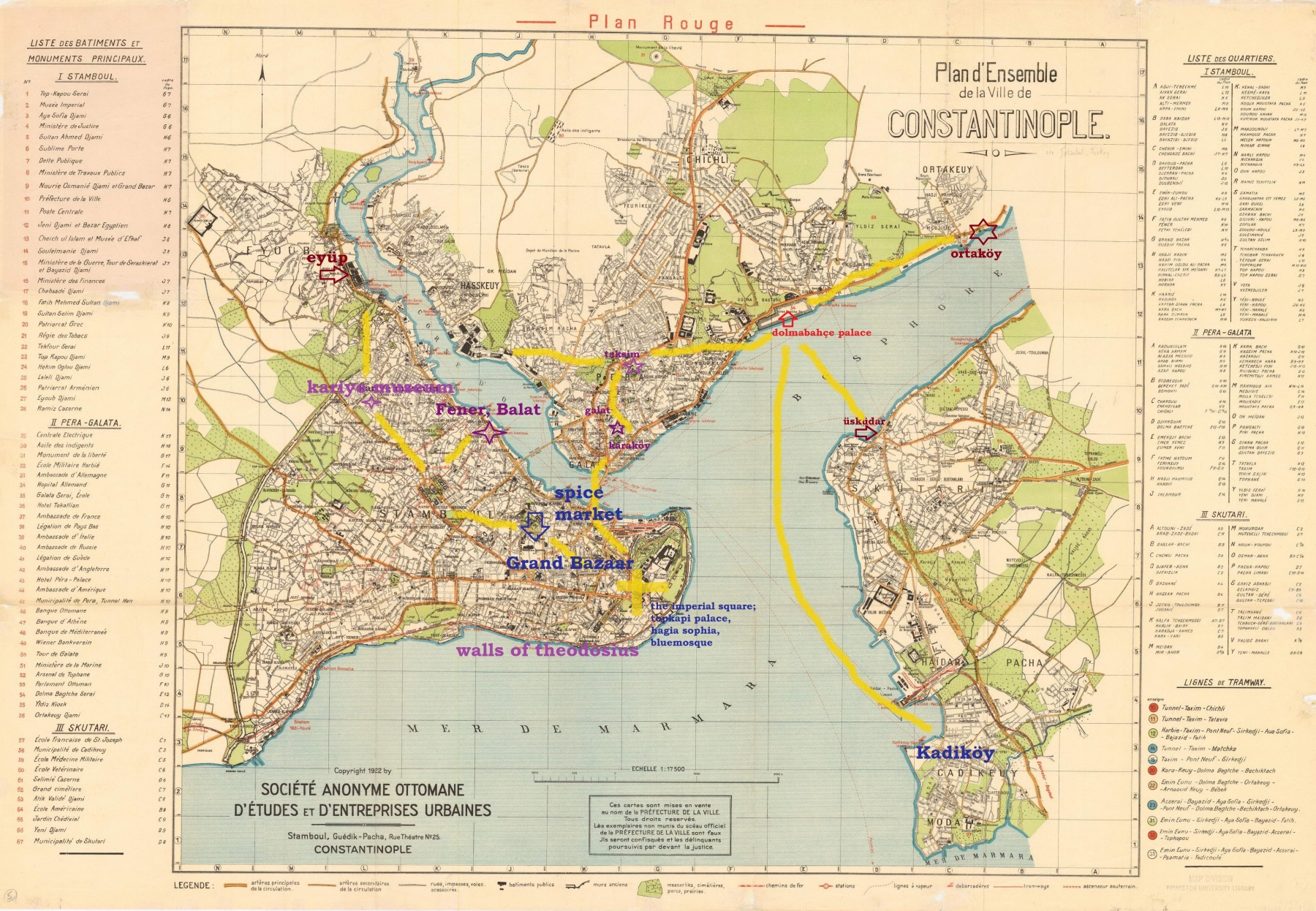 Map Of Byzantium City