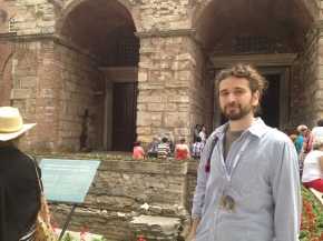 next to Hagia Sophia